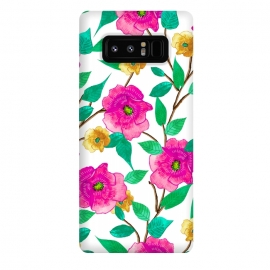 Galaxy Note 8  Floral Forever by Uma Prabhakar Gokhale