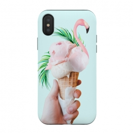 iPhone Xs / X  Tropical Ice Cream by