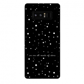 Galaxy Note 8  We are all made of stars by  (space,stars,black,quote)