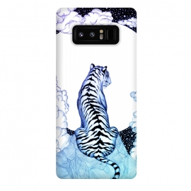 Galaxy Note 8  Ombre Tiger Moon by ECMazur