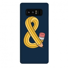 Galaxy Note 8  ampersand pencil by Coffee Man ()