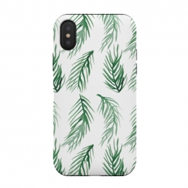 Watercolor Palm Leaves by ALIPRINTS Design Studio