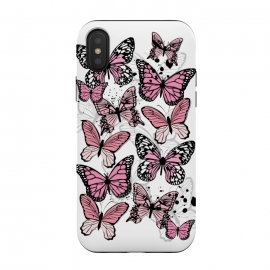 Stylish Pink Butterflies by Martina (animal, nature,butterfly,pink ,feminine,modern,stylish,pretty,girlie,cute,sweet,butterflies)