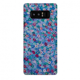 Galaxy Note 8  Blue Hues by Helen Joynson (fun,foral)