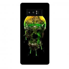 Galaxy Note 8  Haunted Skull by  (skull,skeleton,horror,art,design,cool)
