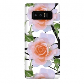 Galaxy Note 8  Swiggles + Florals by