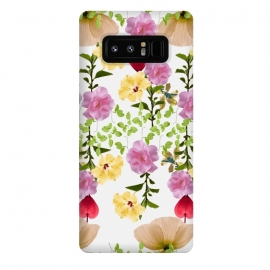Galaxy Note 8  Colorful Flower Collage by Zala Farah