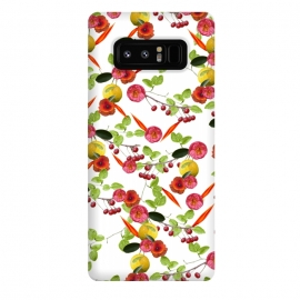 Galaxy Note 8  Fruity Flora by  (fruity,fruitys,lemon,yellow,orange,red,nature,floral,food,yellow lemon,plants,flora,floral print,nature print,nature art,nature pattern,floral pattern,flower print,flower pattern,flower art,floral art,flower collage,floral collage,nature collage,botanic,illustration,digital painting,art,print,pretty)