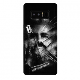 Galaxy Note 8  White Lines by