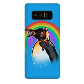 Galaxy Note 8  Zombie Penguin by Branko Ricov