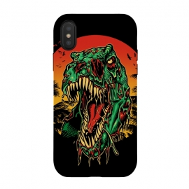 iPhone Xs / X  Zombie T-Rex by Branko Ricov