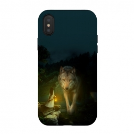 iPhone Xs / X  The Wolf by