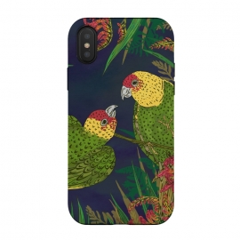 iPhone Xs / X  Parakeets in Paradise by
