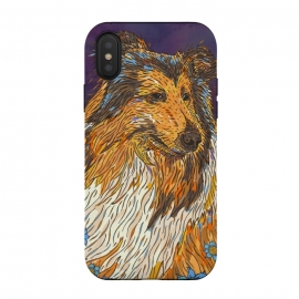 Rough Collie by Lotti Brown