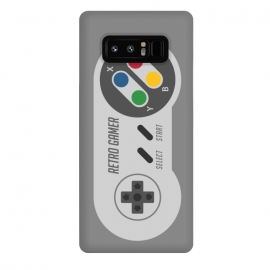 Galaxy Note 8  Retro Gamer Serie I by  (gamer,video game,retro,vintage,80´s,90´s,classic,hipster,geek,nerd,computer,tech,8 bit)