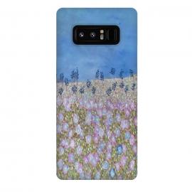 Galaxy Note 8  Merry Meadow by  (fun,garden,modern,flowers,floral)