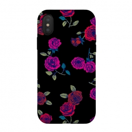 iPhone X  Roses by Susanna Nousiainen (grunge,rose,flower,cool)