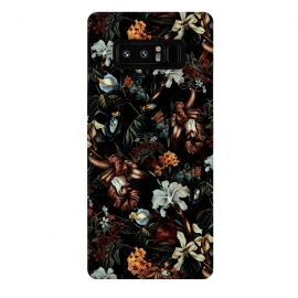 Galaxy Note 8  Botanical Flowers I by Riza Peker (FLORAL,PATTERN,ART)