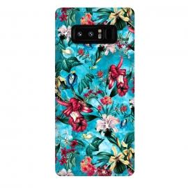 Galaxy Note 8  Botanical Flowers III by  (FLOWERS,PATTERN,FASHION,DESIGN,ART)