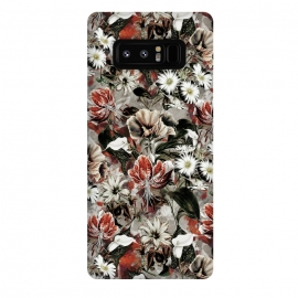 Galaxy Note 8  Floral Fall by Riza Peker (botanical, floral,fashion,design,rizapeker,art)