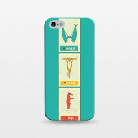 iPhone 5/5E/5s  WTF cards by Coffee Man