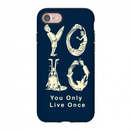iPhone 8/7  YOLO you only live once by Coffee Man