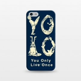 iPhone 5/5E/5s  YOLO you only live once by Coffee Man