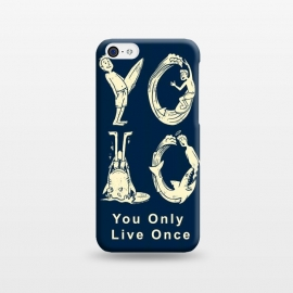 iPhone 5C  YOLO you only live once by Coffee Man