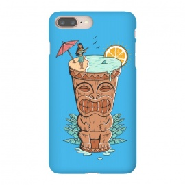 iPhone 8/7 plus  Tiki Drink by Coffee Man (tiki,drink,vacation,hawaii,summer,spring break,sun,beach,sea,ocean,aloha,fun,funny,gods)