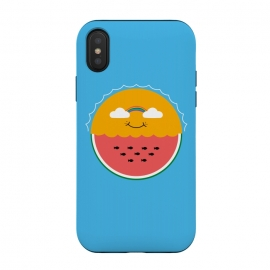 iPhone Xs / X  Sun and Watermelon by Coffee Man