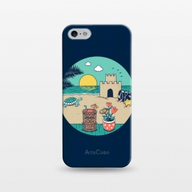 iPhone 5/5E/5s  Video game beach by Coffee Man