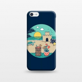 iPhone 5C  Video game beach by Coffee Man