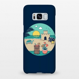 Galaxy S8+  Video game beach by Coffee Man