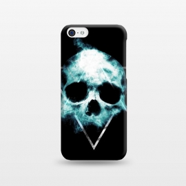 iPhone 5C  Skull by Mitxel Gonzalez (skull,skulls and bones,skull art,skull phonecase,skull lovers,love skulls,dark art,skulls)