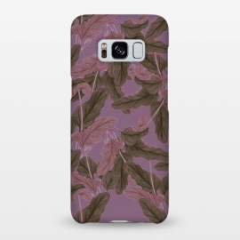 Galaxy S8+  Purple Bushes by Zala Farah
