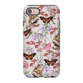 iPhone 8/7  My Fantasy by Zala Farah (designer floral print, colorful, vibrant, botanic, garden, flowers, flower art, floral print, floral collage, garden art, botanical, lush, tropical, exotic, lush garden, blossom, blooming, summer vibes, spring flowers, summer, spring, cute, beauty,flora,floral,floral print,floral art,floral pattern,)