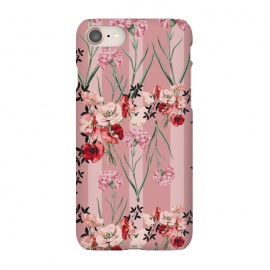 iPhone 8/7  Floral Love X (Red) by Zala Farah