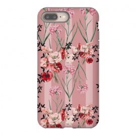 iPhone 8/7 plus  Floral Love X (Red) by Zala Farah