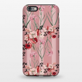 iPhone 6/6s plus  Floral Love X (Red) by Zala Farah