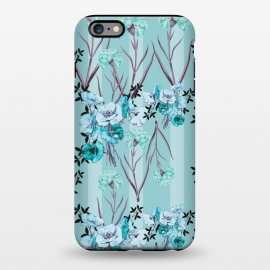 iPhone 6/6s plus  Floral Love X (Blue) by Zala Farah