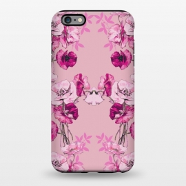 iPhone 6/6s plus  Dramatic Florals (Pink) by Zala Farah