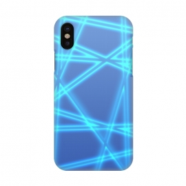 iPhone X  Light beams by Gill Eggleston Design