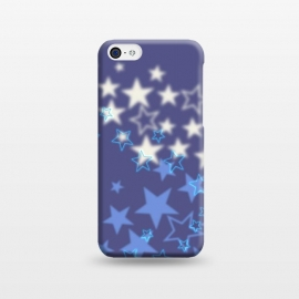 iPhone 5C  Fuzzy stars by Gill Eggleston Design