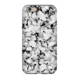 iPhone 6/6s  Black and White Marble by Olga Khomenko