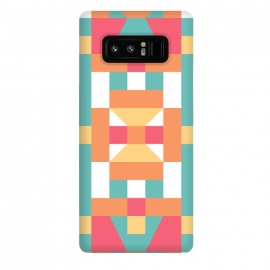 Galaxy Note 8  Candy Land (by Color Blocks) by  (candy land,color blocks,color blocks by zala02creations,zala02creations,geometric,symmetrical,colorful,rainbow,cute,pattern,blocks)