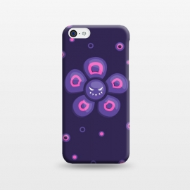 iPhone 5C  Purple Evil Flower by Boriana Giormova