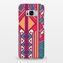 Galaxy S8+  Tribal ethnic geometric pattern 001 by Jelena Obradovic