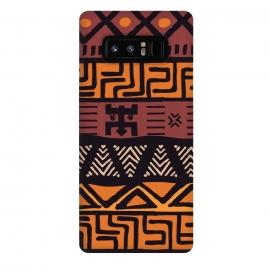 Galaxy Note 8  Tribal ethnic geometric pattern 021 by