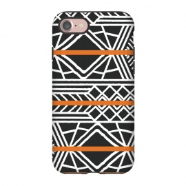 iPhone 8/7  Tribal ethnic geometric pattern 022 by Jelena Obradovic
