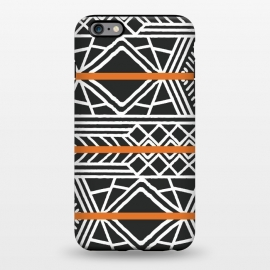 iPhone 6/6s plus  Tribal ethnic geometric pattern 022 by Jelena Obradovic